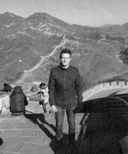 at great wall of china